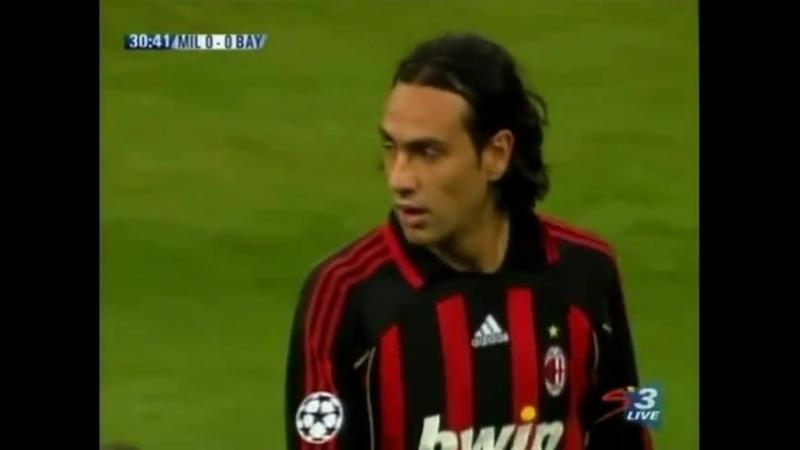 Лига Чемпионов 2006_2007. 1_4 финала. Первый матч. Милан - Бавария