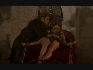 бдсм сцены(bdsm, бондаж, подчинение, рабыни, изнасилование, rape) из фильма: Варвар(Barbarian) - 2003 год