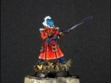 How to paint Eldar Warlock part 2