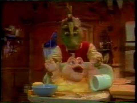 Dinosaurs - Baby Sinclair the Cookie
