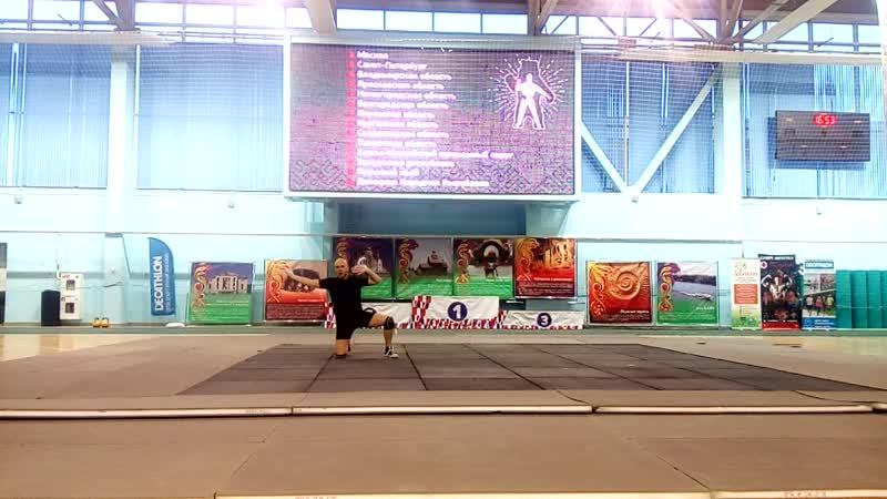 Чемпионат России по сжг 2018 Денис Бердинских