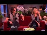Johnny Depp on The Ellen DeGeneres Show - FULL INTERVIEW (20120508)