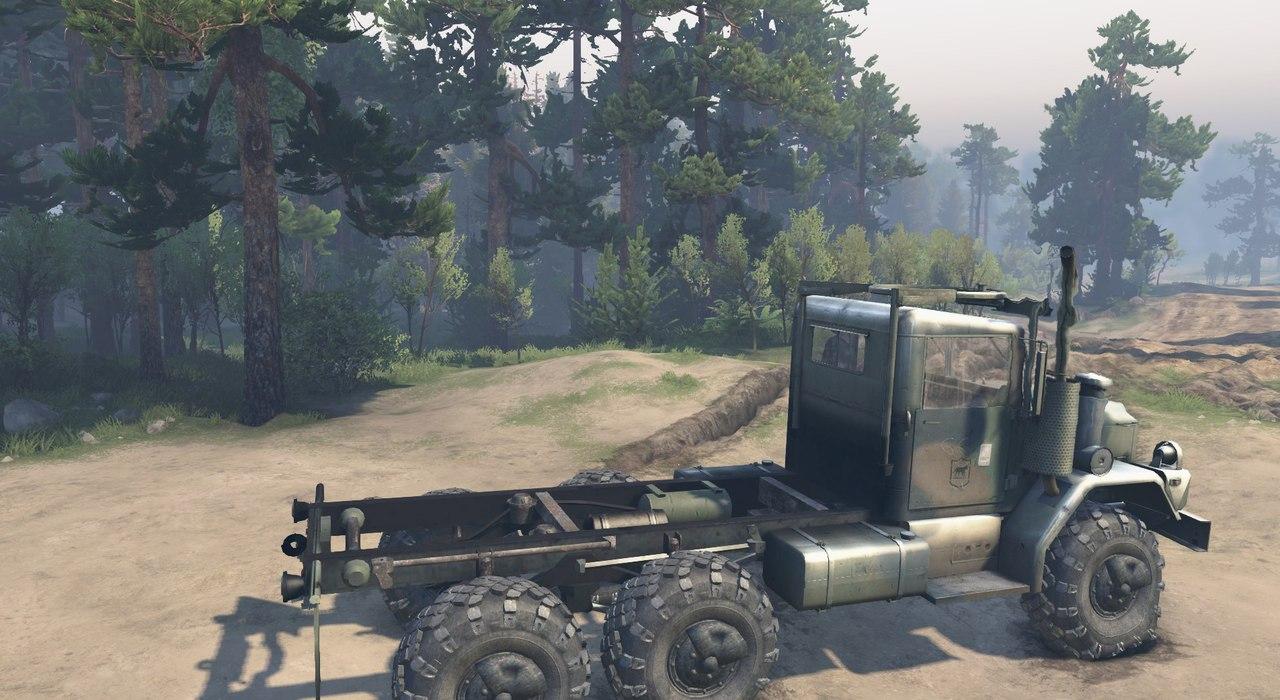 Army truck M35A2 для 23.10.15 & 8.11.15 для Spintires - Скриншот 2