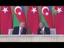 Erdoğan orada Bakü'nün kurtuluşunun 100 yıl dönümü töreni GURUR VERİCİ