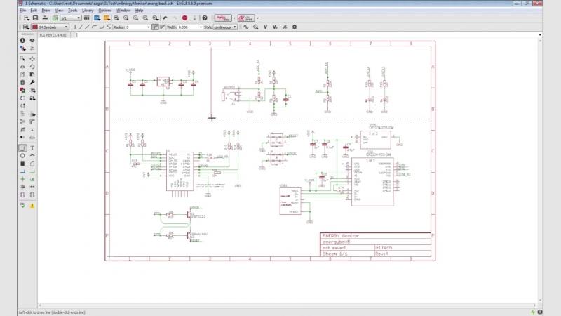 EAGLE CAD Оформление чертежей, Schematics