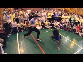 Prof Revivo e CM Espirrinho. RB 2014 - Quilombo dos Palmares. Real Capoeira