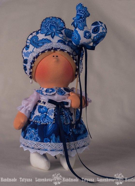 кукла хохлома