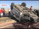 В жутком ДТП в Алматы погибла женщина, пострадали еще 7 человек
