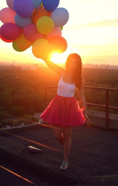 Эротические фото с воздушными шариками 11 фотография