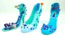 Игровой набор для детей украшаем туфли героинь мультика Холодное сердце