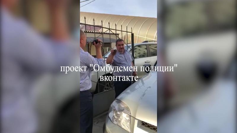 Инцидент с дракой полицейских в Ростове попал на видео