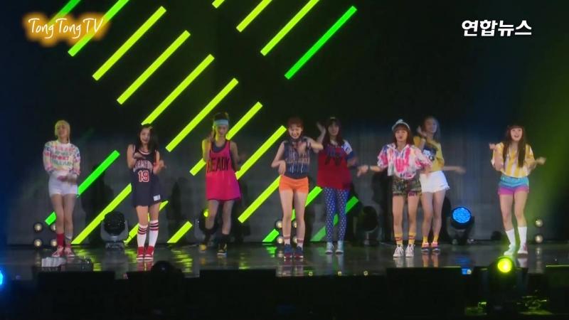 170808 Weki Meki(위키미키) Fantastic Showcase Stage (WEME, 최유정, 김도연, Doyeon,YooJung)
