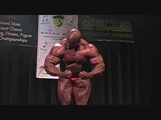 Ronnie Coleman Guest Posing @ 2009 Maryland State