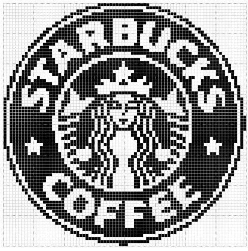 Прямое плетение: Starbucks