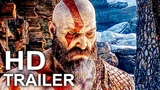 GOD OF WAR 4 Final Trailer #4 NEW (2018)