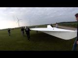 ОГРОМНЫЙ RC самолет - 32 квадратных метра, треугольное крыло!