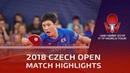 Tomokazu Harimoto vs Vladimir Samsonov | 2018 Czech Open Highlights (R16)