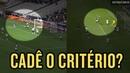 Lances iguais medidas diferentes Gol do Atlético MG já foi anulado quando Corinthians fez