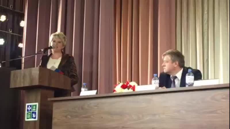 Поздравление от Б.А. Дубровского участников форума Сельская женщина