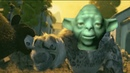 The Lego Yoda Death Sound over various cinematic deaths