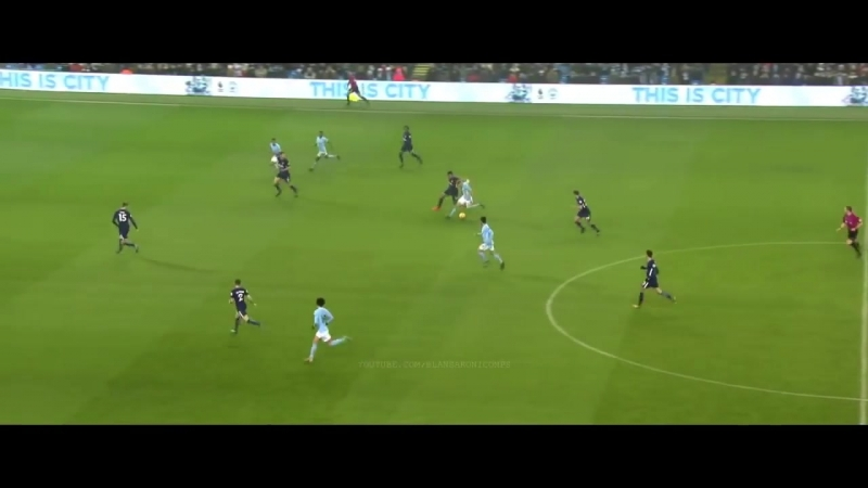 Manchester City 2018 Dominating Football w English Commentary HD