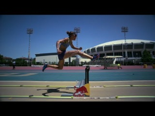 Lolo Jones High Tech Training with Red Bull Project X