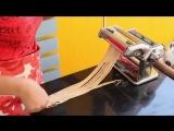 Как за 5 минут приготовить лапшу в домашних условиях