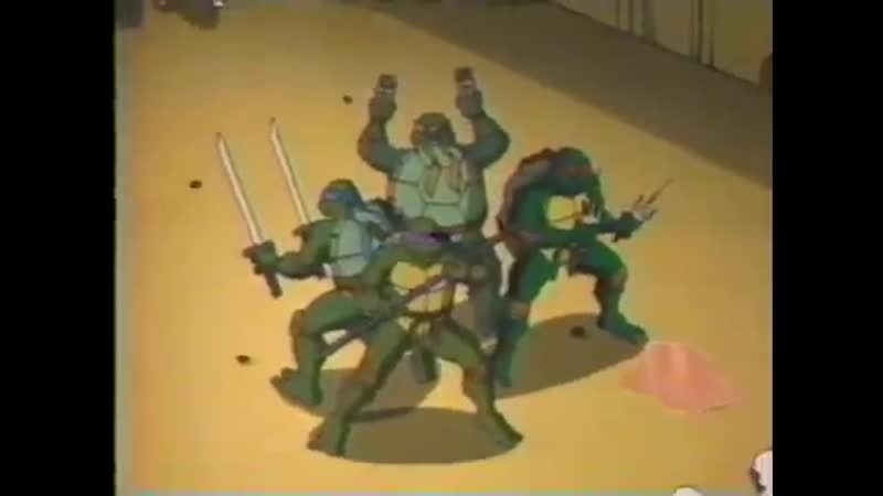 FoxBox Teenage Mutant Ninja Turtles Episode 2 Preview (2003)