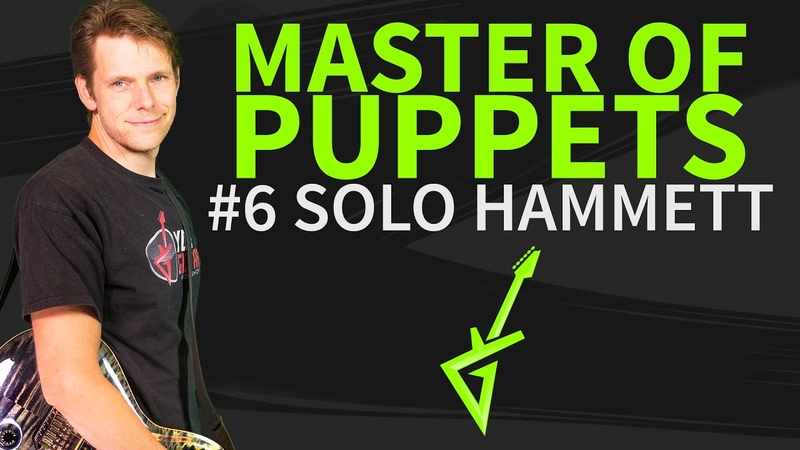 How To Play Master Of Puppets Guitar Lesson 6 Solo Kirk Hammett
