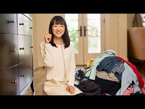 Tidy Up Your Home: The KonMari Method : Storing clothes 2: Demonstration
