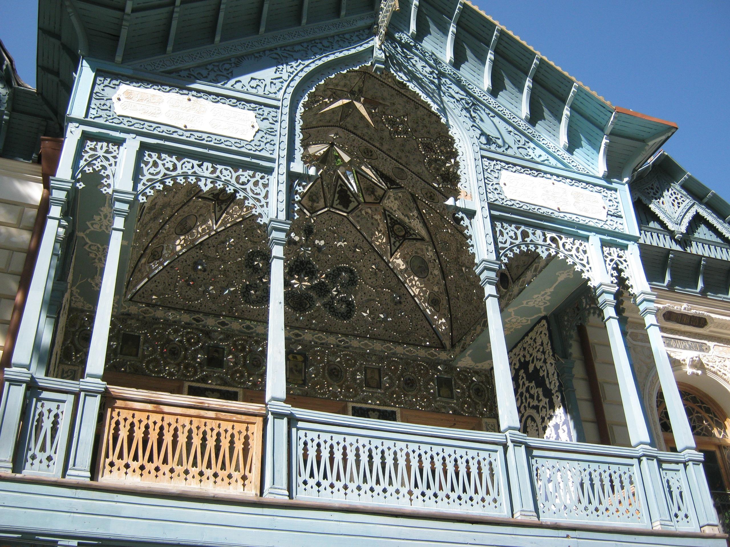 Самое известное из старинных зданий в Боржоми.