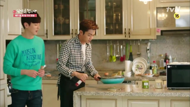 [TV] 19.05.2015 Lets Eat 2, Ep.14 - Goo DaeYoung Cut 2