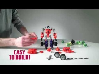 Transformers Construct-Bots Product Demo