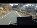 Проезжаем швейцарские горы