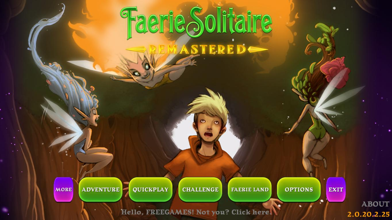 Faerie Solitaire Remastered (En)