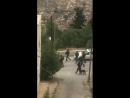 Tôt ce matin, prise d'assaut du village de Silwad près de Ramallahpar les soldats juifs sionistes, kidnapping de plusieurs citoy