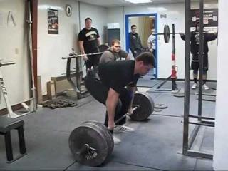 Уэйд Гиллингам - тяга прямым хватом не в замок 275 кг