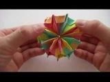 Динамическая игрушка оригами Калейдоскоп