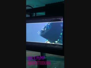 Lil Pump & DestoDubb - Instagrams (Shooting Video)