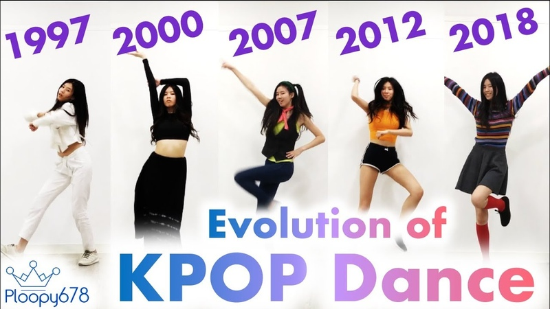 Evolution of KPOP dance Iconic KPOP dances through the years