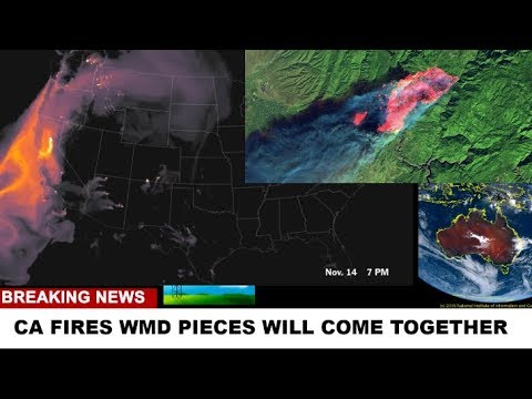 CAMP FIRE PUZZLE WMD BOOM TOXIC FUMES Weather Warfare Live ANALYSIS