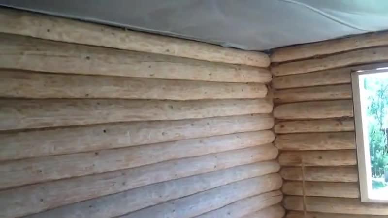 Деревянный дом - выравниваем стены - Строим дом своими руками