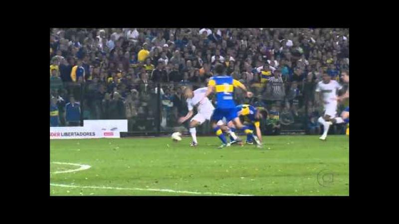 Boca 1 x 1 Corinthians GOL DE ROMARINHO Narração Cléber Machado Libertadores 2012 Final