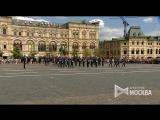 Репетиция церемонии развода пеших и конных караулов Президентского полка на Красной площади