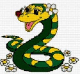 Наступающий 2013-год Змеи.  Предлагаю вам несколько схем вышивки.  Время к празднику есть, и, так,приступаем!