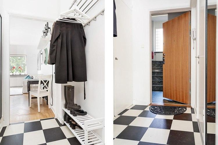 Милая малометражная квартира 23 м с кухней в нише.