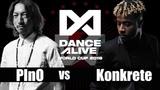 PInO(Japan) vs Konkrete(United States)