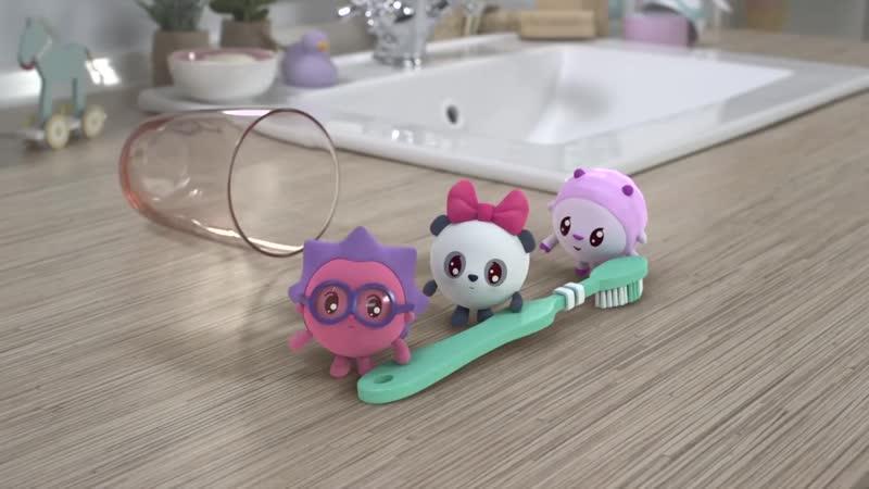 Малышарики - Щётка - серия 84 - обучающие мультфильмы для малышей 0-4 - чистим з