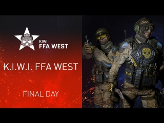 Warface K.I.W.I. FFA WEST. Final Day