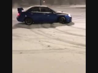 Когда выпал первый снег)